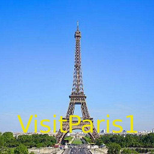 VisitParis1 旅遊 App LOGO-APP試玩