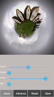 Screenshot of Tiny Planet FX Pro
