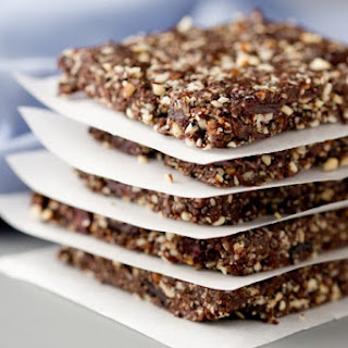 No-Bake Chocolate, Cherry and Almond Energy Bars