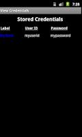 Screenshot of Secret Diary with Passwords