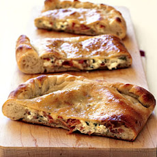Double-Cheese and Prosciutto Calzone
