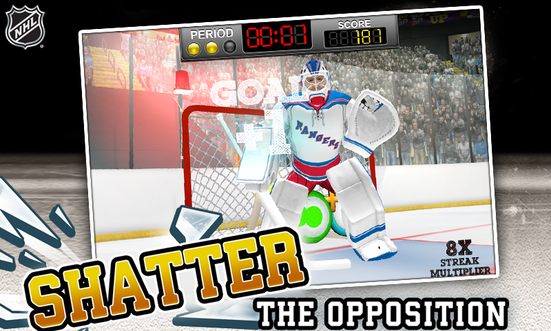 NHL Hockey Target Smash Screenshot 2
