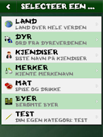 Screenshot of Hangman (Norwegian)