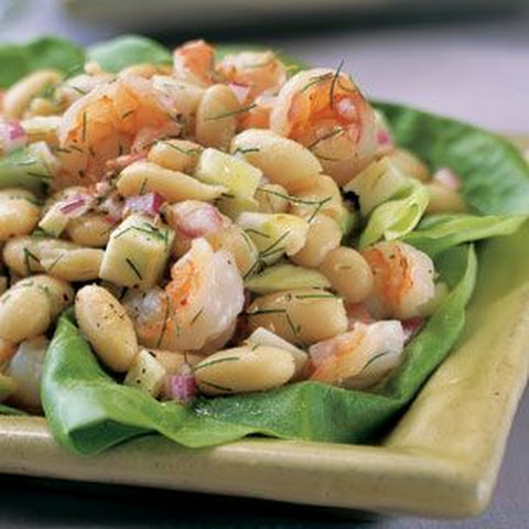 Tuscan White Beans With Spinach, Shrimp And Feta Recipe — Dishmaps