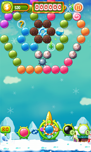 Bubble Candy Christmas Screenshot