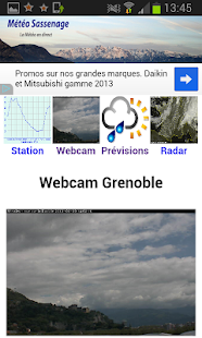 Météo Sassenage (38) - screenshot