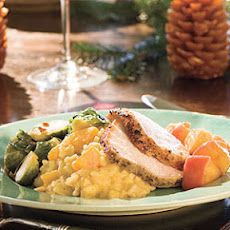 Pork Loin Roast With Carolina Apple Compote