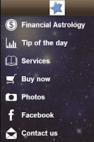 Screenshot of Financial astrology