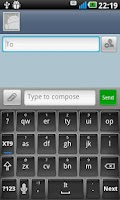 Screenshot of Elegant Gloss Keyboard Skin