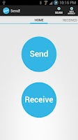 Screenshot of Send! | File Transfer
