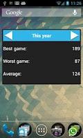 Screenshot of Open Bowling Score Tracker