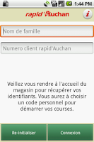 Screenshot of Rapid Auchan