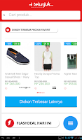 Screenshot of Telunjuk.com - Shopping Apps