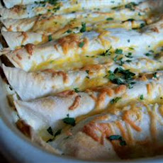 Whit's Chicken Enchiladas