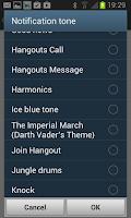 Screenshot of Notifications Ringtones