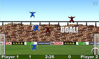Screenshot of Kung Fu Soccer