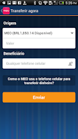 Screenshot of MEO App