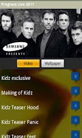 Screenshot of Take That Progress Tour