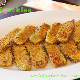 Baked Fried Pickles Recipes