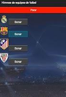 Screenshot of Himnos de futbol