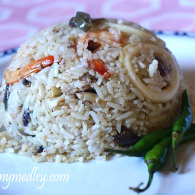 Thai-style Seafood Fried Rice