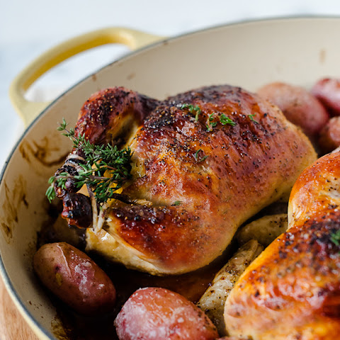 Buttermilk Brined Cornish Hens