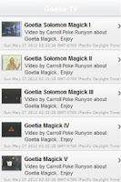 Screenshot of Goetia TV: Demon Jinn Magic