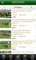 Screenshot of Cheltenham Racecourse