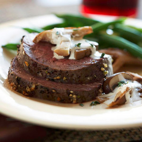 Easy Slow-Roasted Beef Tenderloin
