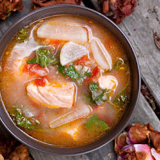 Salmon-Miso Sinigang (Filipino Sour Soup) Recipe