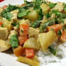 Hearty Curried Chicken Bowl