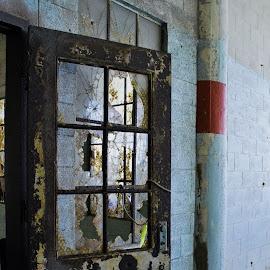 Prison Door by Tina Cantarinha - Travel Locations Landmarks ( alcatraz )
