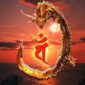 Dragon Mahavairocana icon