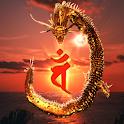 Dragon Mahavairocana icon