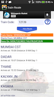Screenshot of Indian Railways