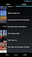 Screenshot of Pink Floyd Lyrics