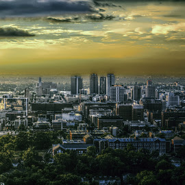 Birmingham City  by Scott Cobb - City,  Street & Park  Skylines ( hdr, sunset, birmingham, alabama, city )