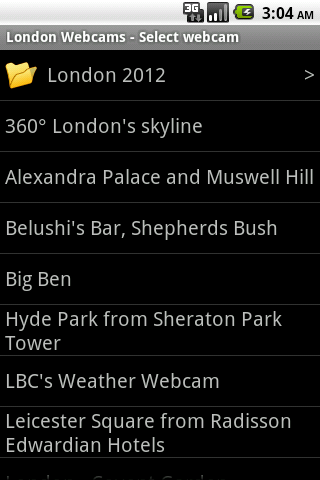 London Webcams