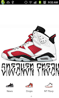 Screenshot of Sneaker Freak