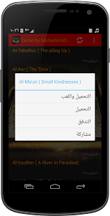 Quran by Muhammad Jebril - screenshot