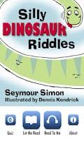 Screenshot of Silly Dinosaur Riddles