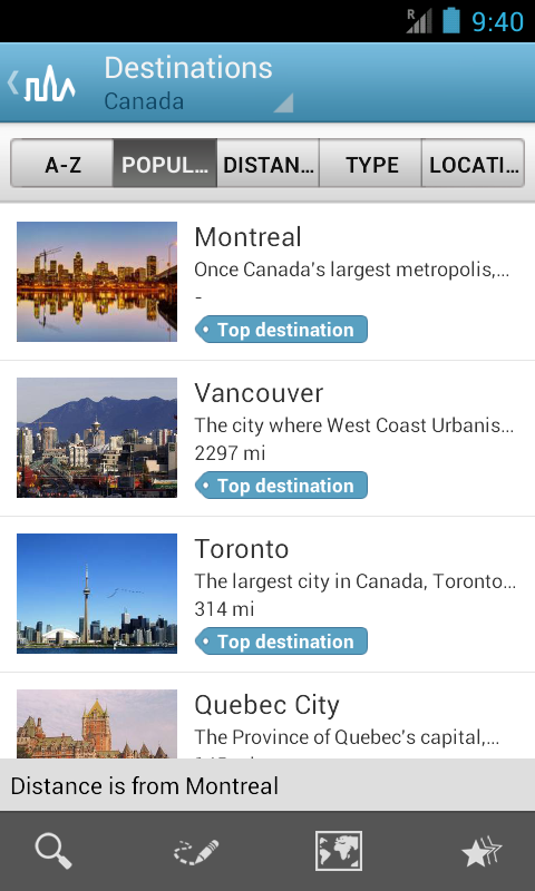 World Travel Guide by Triposo Screenshot 0