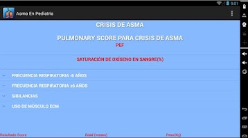 Screenshot of Asma En Pediatría