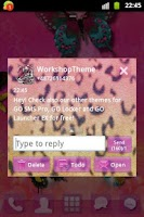 Screenshot of GO SMS Theme Panther