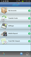Screenshot of Alive Credit Union Mobile