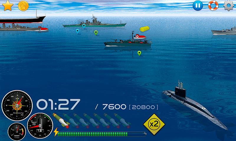 Silent Submarine Career Screenshot