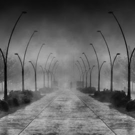 , by Boricic Goran - City,  Street & Park  Street Scenes ( h )