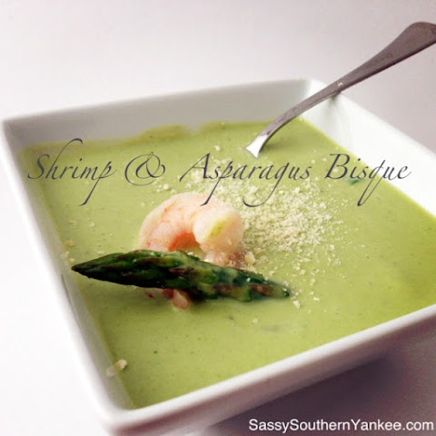 Shrimp & Asparagus Bisque