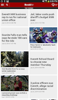 Screenshot of HeraldNet – The Everett Herald