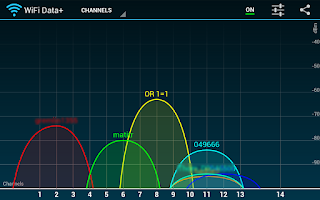 Screenshot of WiFi Data+